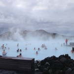 Iceland's Blue Lagoon in January.